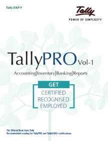 Buy Tally Guru Vol 1 Book Online | Tally Solutions Book | Tally